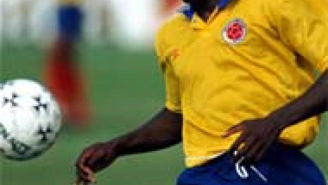 Freddy Rincón con la selección colombiana (ARCHIVO)