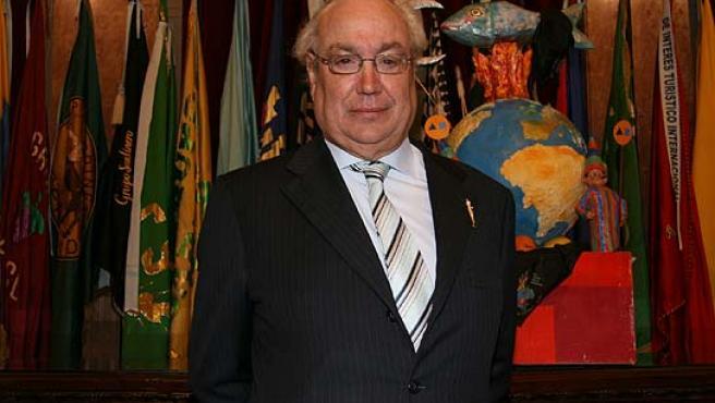 Jesús Samper, el presidente del Real Murcia. (Lara Roda)