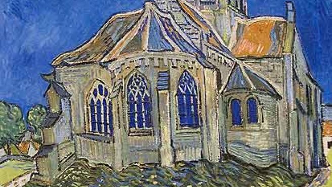 Un iglesia de Auvers. (Foto: París )