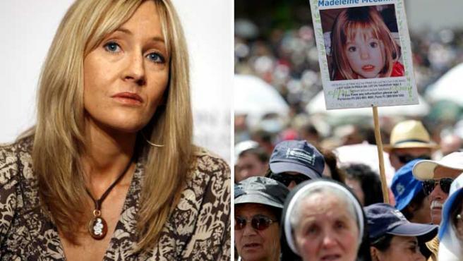J.K. Rowling también ayuda a buscar a Madeleine (AP Photo/ EFE)