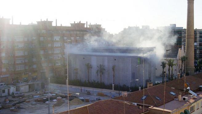 Imagen de la subestación eléctrica de Patraix (Valencia), propiedad de Iberdrola.(EFE)