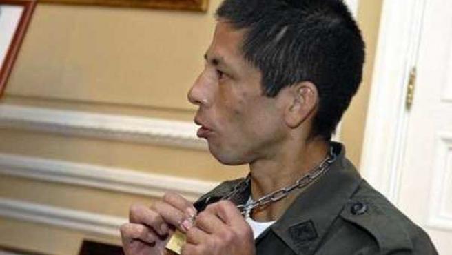 Jhon Frank Pinchao (Presidencia /HO / Reuters)