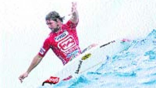El surfista estadounidense Damien Hobgood.(EFE)