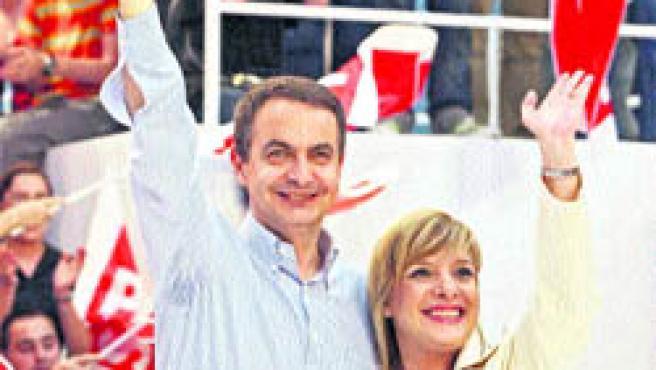 ZP, durante su visita a Alicante.