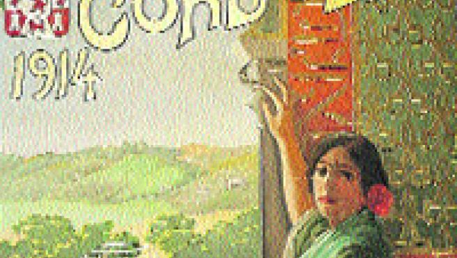 Las mujeres han sido el icono recurrente de toda la cartelería de la Feria de Mayo (Roldán Serrano).