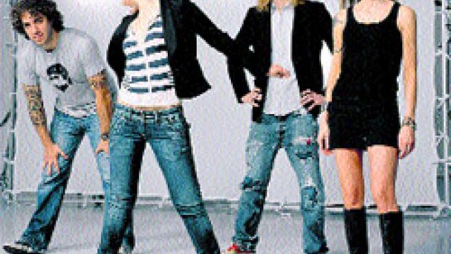 Los cuatro componentes del grupo de rock Dover(Archivo).