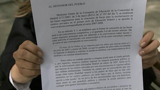 Eva ha presentado una queja ante el Defensor del Pueblo (ANTONIO NAVIA)