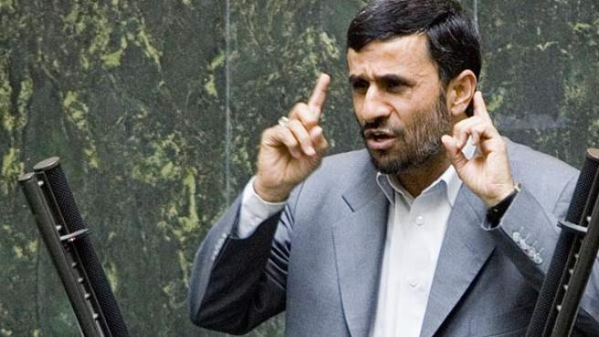 El presidente iraní, Mahmoud Ahmadinejad (RAHEB HOMAVANDI / REUTERS).