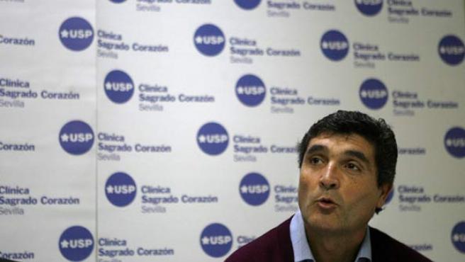 Juande Ramos, en conferencia de prensa.