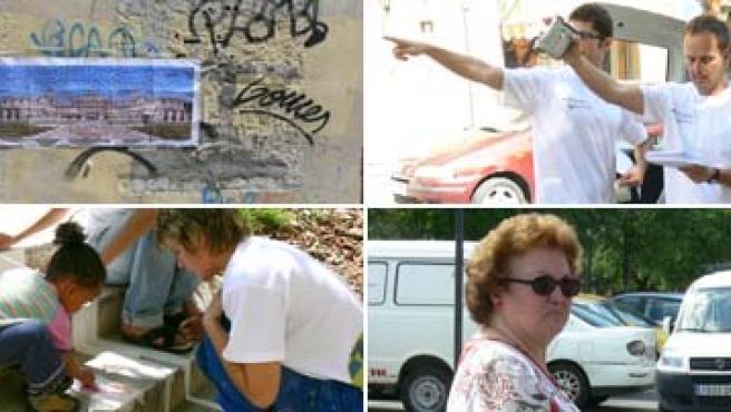 Seis personas conforman el Proyecto Furgoneta, que trata de acercar el arte contemporáneo a la calle.