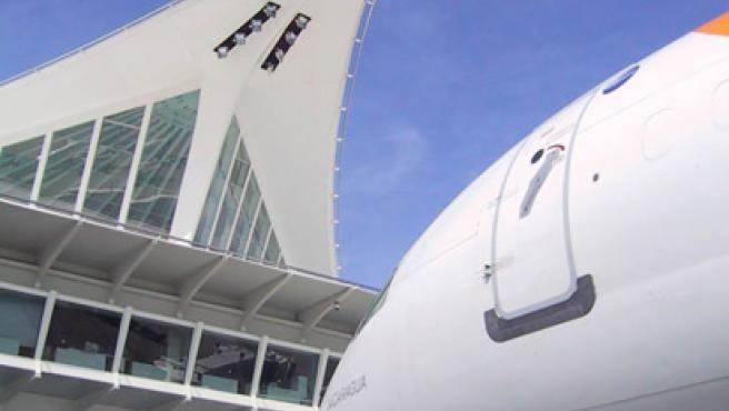 La Terminal 4 recién construida de Barajas. (SEPLA)