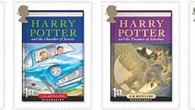 Sellos de Harry Potter.
