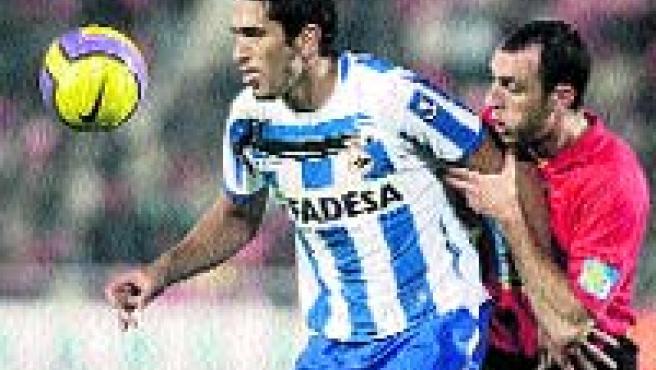 El uruguayo Taborda.(Archivo)