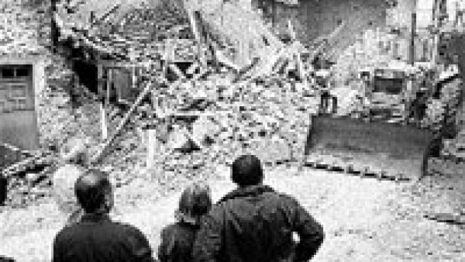 No causó heridos, ni daños a las casas vecinas. (Peio García / Ical)
