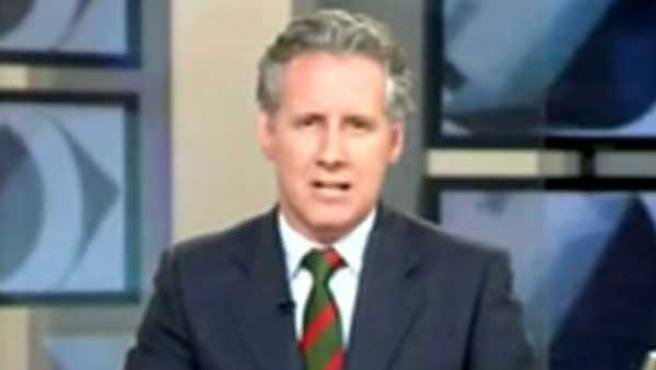 Lorenzó Milá, presentador del telediario acusado por el PP.