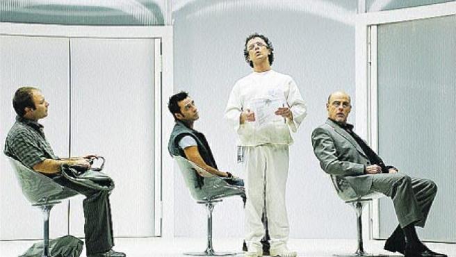 Vicente Romero, Javier Martín, Víctor Ullate y Aitor Mazo.