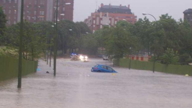 Las tormentas se tragaron a los coches (Cristina López)