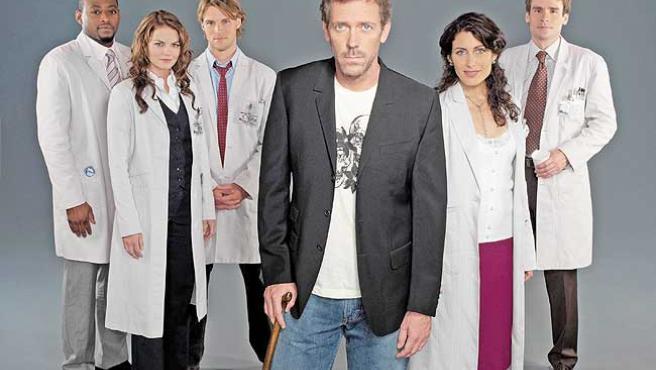 El doctor House y sus médicos.