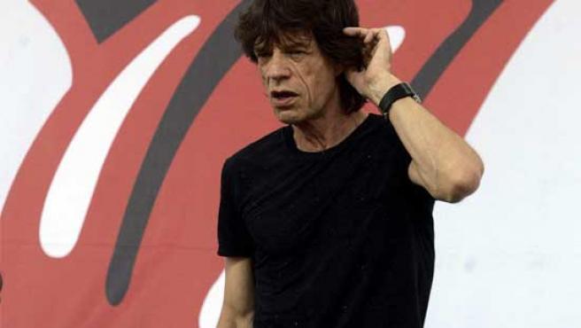 El cantante de los Rolling Stones, Mick Jagger.
