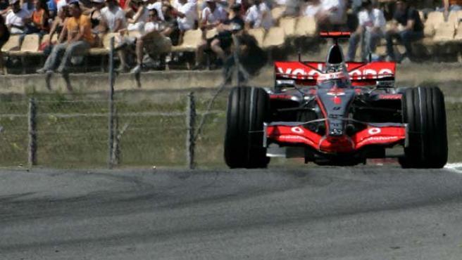 El piloto español de la escudería McLaren-Mercedes Fernando Alonso (Efe).