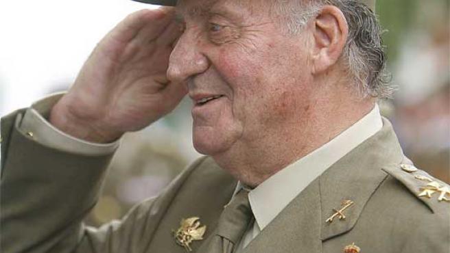 El rey Juan Carlos (Emilio Naranjo / Efe)