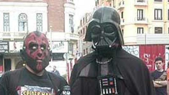 Celebración en Madrid del Día del Orgullo Friki en 2006.