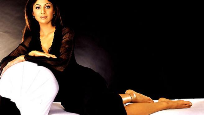 La actriz india Shilpa Shetty, ganadora de Gran Hermano Vip en Reino Unido.
