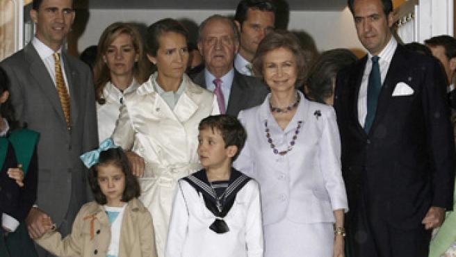 Froilán y sus invitados (EFE/BALLESTEROS)