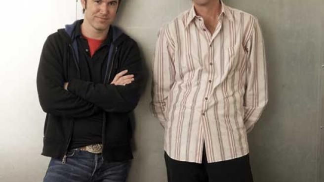 Tom Anderson (izquierda) y Chris (derecha), los fundadores de Myspace.