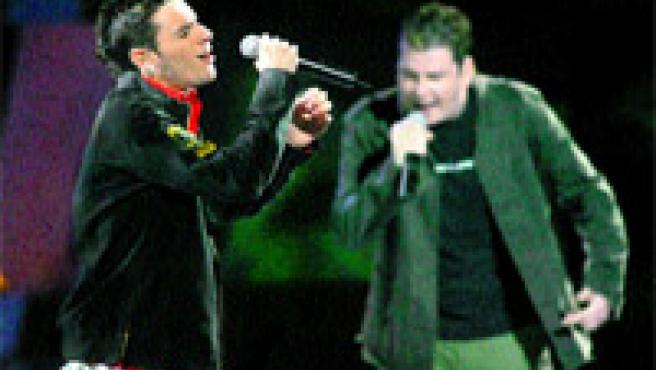 Andy Morales y Lucas González, una pareja artística siempre de buen humor (Jorge París).