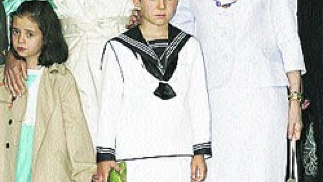 Felipe Juan Froilán, hijo de la infanta Elena y Jaime de Marichalar.