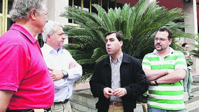 Miguel Ruiz Madruga aspira a conseguir los votos suficientes que sumen al menos un concejal en el pleno (R. S.).