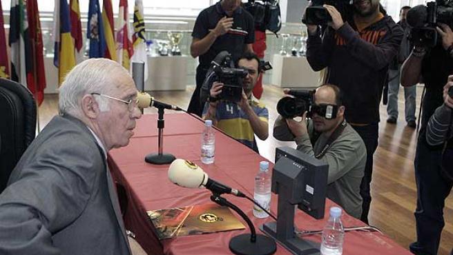 El seleccionador español Luis Aragonés. (Efe)