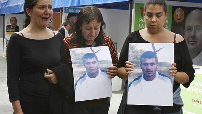 Protesta joven Badalona. (efe)