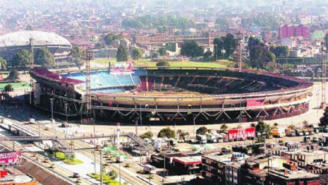 El estadio colombiano de El Campin. (Reuters)