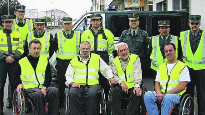 En los controles habrá voluntarios y Guardia Civil. (ASPAYM).