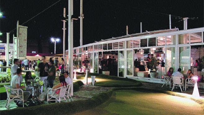 La Terraza de Chamartín, muy cercana a la discoteca Macumba.