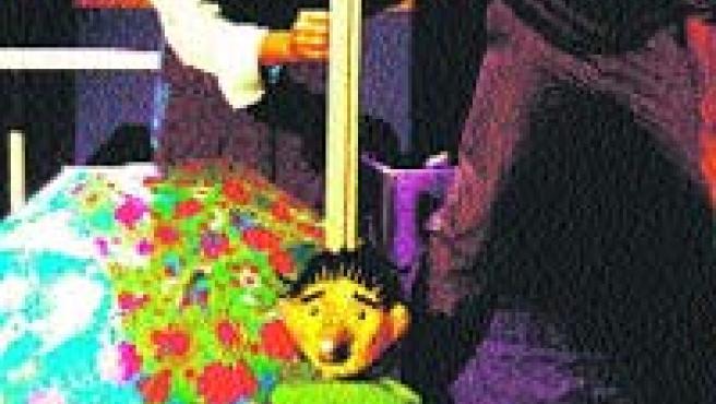 Las marionetas son la pieza clave en los montajes de la compañía.