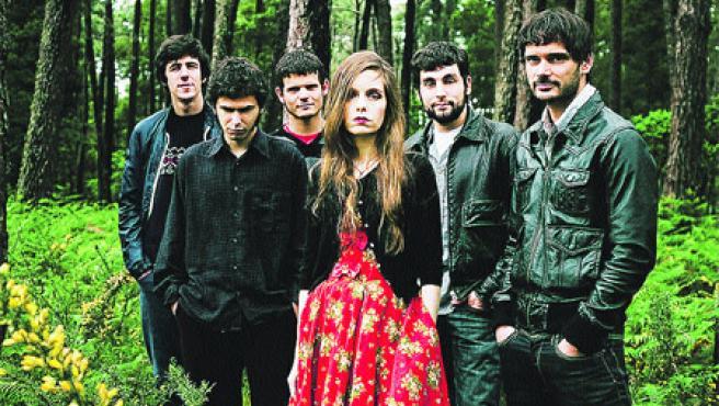 El sexteto gallego continúa con este nuevo disco su carrera ascendente (Tamara de la Fuente).