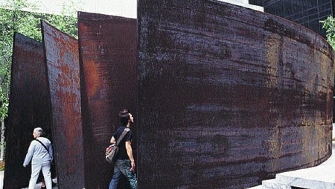 Muestra dedicada al estadounidense Richard Serra.