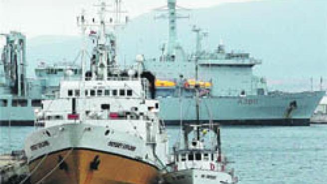 España cree que estaba bajo aguas andaluzas (EFE)