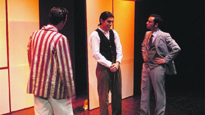La obra se representa esta noche en el Auditorio de Calasparra.