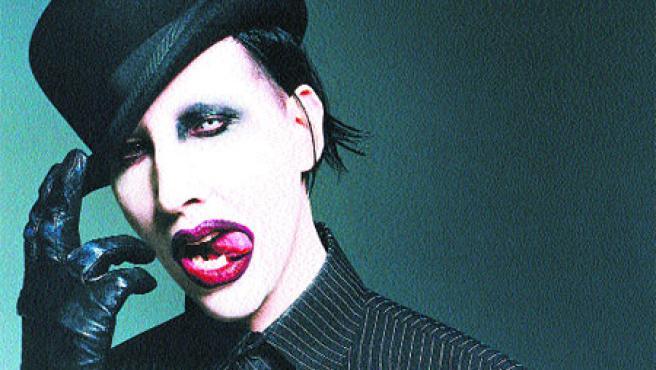 El controvertido Marilyn Manson actúa mañana en la décima edición del festival Lorca Rock.