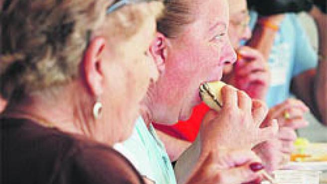 La Feria de la Tapa se inauguró ayer y se prolonga hasta el domingo.(M.M.)