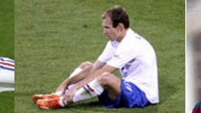 Ribery, Robben y Eto'o