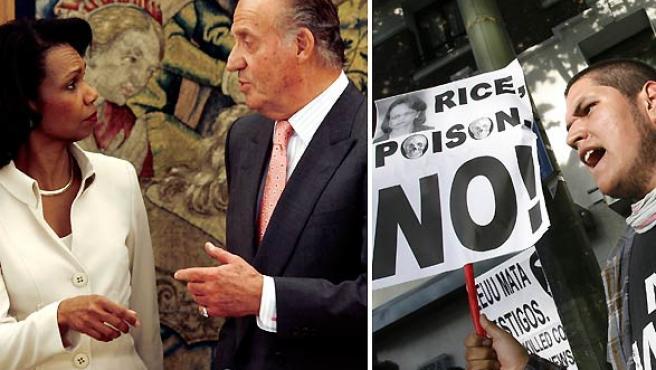Rice llega a España (AGENCIAS).