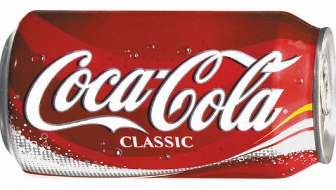 Una lata de la archiconocida Coca Cola.(COCACOLA)