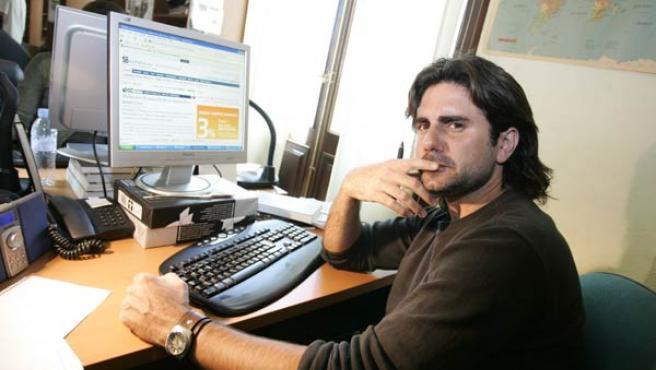 Hernán, en la redacción de 20minutos.es.