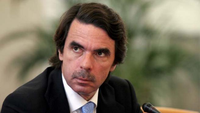 José María Aznar participa en la conferencia sobre democracia y seguridad que tiene lugar en Praga