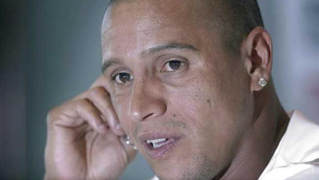 El defensa brasileño del Real Madrid Roberto Carlos. (Efe)